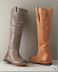 Frye Paige Riding Boots, love the gray