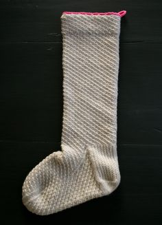 Whit's Knits: DIY Heirloom Christmas Stocking