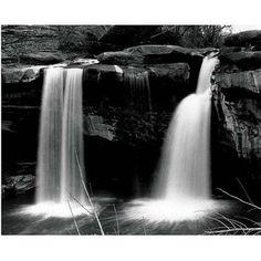 Trademark Art Waterfalls Canvas Art by Nicole Dietz, 26x32, Multicolor