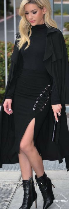 How adorable is this lace up skirt from @touchdolls // Fashion Look by Shanda Rogers