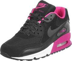 Nike Air Max 90 Youth schwarz pink