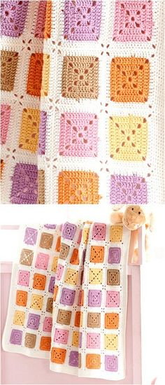 Advance and lovely Crochet Patterns for Kids And Ladies Advance and lovely Crochet Patterns for Kids And Ladies - Diy Rustics Granny Square Häkelanleitung, Crochet Square Blanket, Granny Square Crochet Pattern, Crochet Blocks, Afghan Crochet Patterns, Crochet Squares, Knitting Patterns, Crochet Blankets, Granny Squares