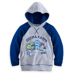 Monsters University Hoodie Pullover for Boys