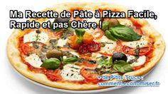 Comment faire une bonne pâte à pizza à la maison ? C'est facile et rapide avec cette recette pas chère pour 4 personnes.  Découvrez l'astuce ici : http://www.comment-economiser.fr/recette-pate-pizza-facile-rapide.html?utm_content=bufferd2786&utm_medium=social&utm_source=pinterest.com&utm_campaign=buffer
