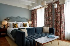White City House, Soho House Members Club and Hotel, BBC Television Centre, West London Soho House White City, Soho House London, West London, Soho Home, Soho House Hotel, Bbc London, City Bedroom, Home Bedroom, Master Bedroom
