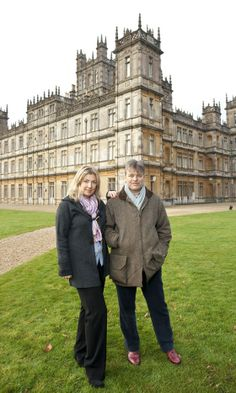 The Earl and Countess of Carnarvon currently live at Highclere Castle – the REAL Downton Abbey – and it's open to the public!