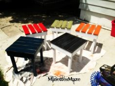 DIY Patio Table or End Table