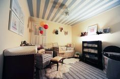 Ceiling Stripes for HJ My Room | Apartment Therapy