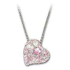 The Swarovski necklace to match the Alana earrings