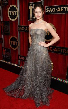 Emmy Rossum at SAG Awards 2015