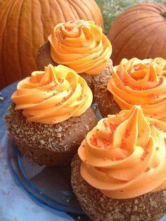 Double Pumpkin Cream Cheese Muffins