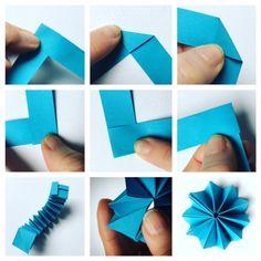 Zauber-Blümchen aus Papierstreifen