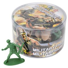 EUR 0.99 - speelgoedsoldaatjes 24st - 100 Nieuwste  - Action Nederland B.V. Voor op een leger taart!