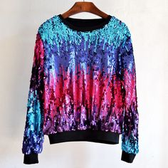Now available!! Limited editions!!! http://designsbyzuedi.myshopify.com/products/2017-new-fashion-women-hoodies-glitter-gradient-beading-sequined-pullover-sweatershirts-tops-4color?utm_campaign=social_autopilot&utm_source=pin&utm_medium=pin 2017 New Fashion ...