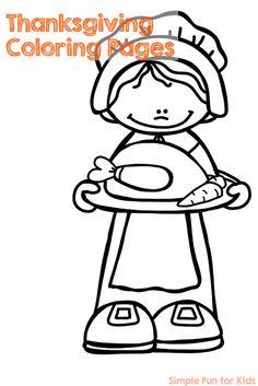10 Thanksgiving Printables for Preschoolers