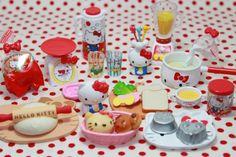 Rement Hello Kitty's kitchen series.