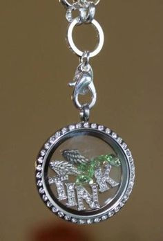 Tinkerbell-- Origami Owl  @ Tiffany Wilhelm - not a monkey, but will work for someone else I know ;-)