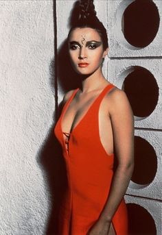 Jane Seymour. Solitaire in 1973's Live and Let Die.