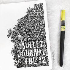 """1,009 kedvelés, 77 hozzászólás – Shayne (@shaynechan) Instagram-hozzászólása: """"The opening page of my Nuuna. Bullet journal no 2! I started out thinking a border would be pretty…"""""""