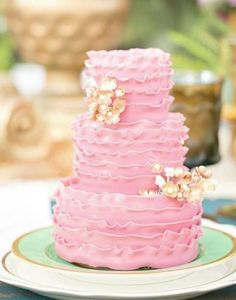 Wedding cake idea; Featured: The Sugar Suite