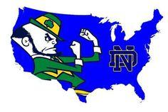 Love it lol Notre Dame Nation! Irish Fans, Go Irish, Irish Pride, Football Love, Notre Dame Football, Notre Dame College, Touchdown Jesus, Notre Dame Irish, College Years