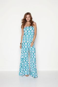 Valerie Jumper - IKAT Link - AED850 from Hunni Online www.hunnionline.com/shop/Clothing/Jumpsuits/Valerie-Jumper-IKAT-Link/