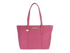Portobello 'Tyra' Fuchsia Saffiano Leather Handbag  #myluxury #bags #envy #style #fashion