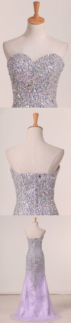 2020 Sweetheart Beaded Bodice With High Slit PQA9XPXB, This dress could be custom made, there are no extra cost to do custom size and color Split Prom Dresses, Wedding Dresses, Fabric Swatches, Special Occasion Dresses, Custom Made, Homecoming, Bodice, Color, Bride Dresses