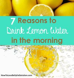 Reasons to drink warm lemon water and how to make it! http://www.howtolosebellyfatsolution.com/lemon-water-benefits