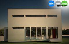 Proiect de casă cu arhitectură modernă 01 Case, Garage Doors, Outdoor Decor, Home Decor, Decoration Home, Room Decor, Home Interior Design, Carriage Doors, Home Decoration