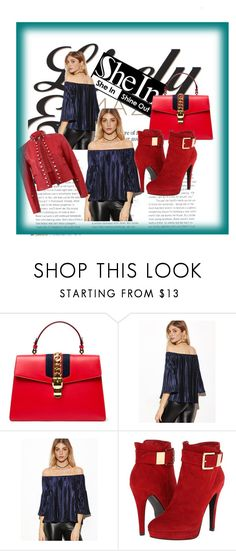 """""""<3 <3 <3"""" by lejla14 ❤ liked on Polyvore featuring beauty, Gucci, 2 Lips Too and Fendi"""