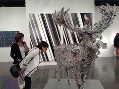 View cutting-edge art at Art Basel Miami Beach; you can see it now at the Samsung Museum in Seoul