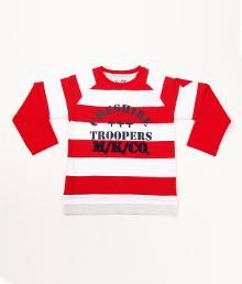 red and white t-shirt for kids on sale online india