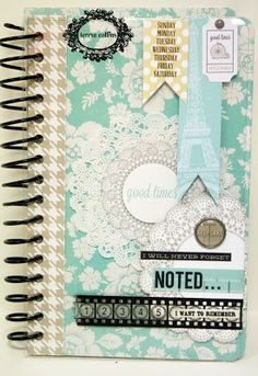 TERESA COLLINS DESIGN TEAM: Noted Mini Album By Yvonne Blair featuring Memories