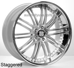 "20""22"" XIX Wheels Rims X23 SIL For Mercedes Benz Audi  #AudioCity"