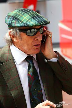 Sir Jackie Stewart (Silverstone 2014)