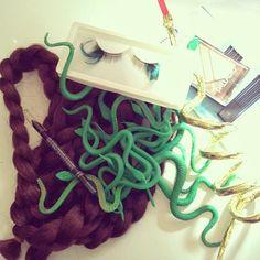 Simple Medusa Costume