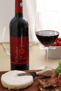 Accord parfait : Le #fromage Chèvre à ma manière de la Fromagerie l'atelier & le #vin rouge FRUITÉ ET LÉGER L'Orpailleur. #SAQ
