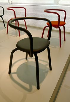 Salone del Mobile 2013: Parrish chair by Konstantin Grcic for Emeco