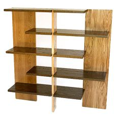 Bookshelf by Josef Albers | From a unique collection of antique and modern bookcases at http://www.1stdibs.com/furniture/storage-case-pieces/bookcases/bookshelf-josef-albers/id-f_712941/#