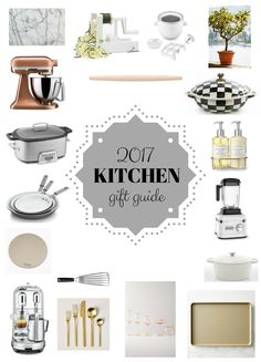 This kitchen gift guide is full of my favorite products and appliances that I use in my kitchen daily! All recommended and tested by me!
