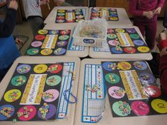 100th Day counting mat (laminate and reuse) Pinned by @PediaStaff – Please Visit http://ht.ly/63sNt for all our pediatric therapy pins
