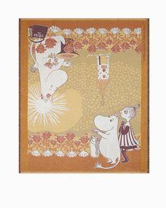 Torkkupeitto, Moomin Home, 120x140cm