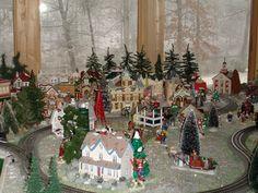 my snow village