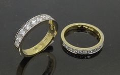 Diamond Wedding and Eternity Rings hand crafted by by Peter Kumskov 'My Own Jeweller Direct' Brisbane for a lovely lady who appreciates Peter's Jewellery making talent and dedication to giving excellent servicehttp://jewellerdirect.com.au/image/data/Gallery/Diamond%20rings/Diamond-Wedding-Eternity-Ring-hand-crafted-by-Peter-Kumskov-My-Own-Jeweller-...