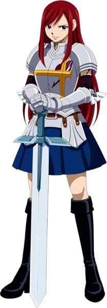 armor  Erza Scarlet from Fairy tail
