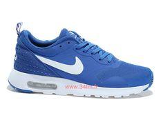 ec6e52f5075e Nike Air Max Tavas Chaussures Bleu Blanc Le moins cher Pour Homme 725073-400