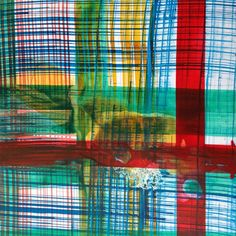 """Patter Hellstrom's """"Cork Tartan"""" from The Tartan Collection - SMW Home, in association with ArtHaus Gallery of San Francisco, proudly presents """"The Tartan Collection"""" by Bay Area artist Patter Hellstrom. """"The Tartan Collection"""" was inspired by SMW Home's phrase - """"Tartan is the new black."""" The artist delved into what constitutes a tartan and the rich history of this iconic textile."""