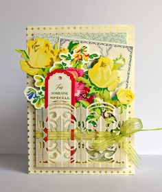 Crafty Creations with Shemaine: Anna Griffin Pocket Die cards