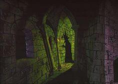 Maleficent concept art  Eyvind Earle